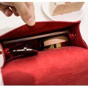 Женские сумки - Женская сумка, серая П0533