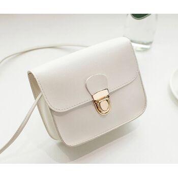 Женская сумка, белая 0534
