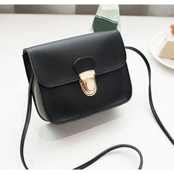 Женская сумка, черная 0535