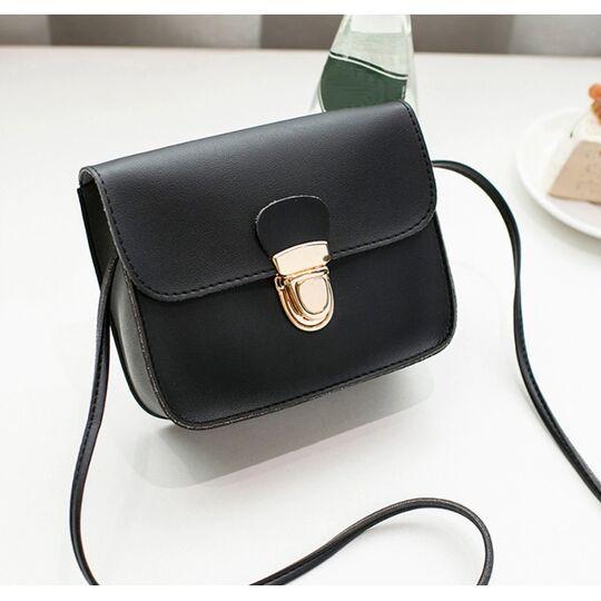 Женские сумки - Женская сумка, черная П0535