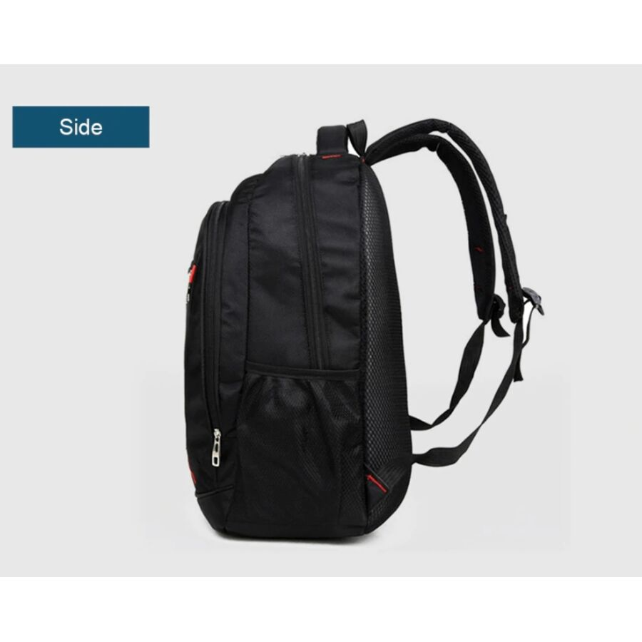 Мужские рюкзаки - Мужской рюкзак WOVELOT, черный 0536