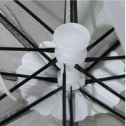 Зонты - Зонтик шапка, розовый П0537