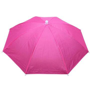 Зонтик шапка, розовый П0537