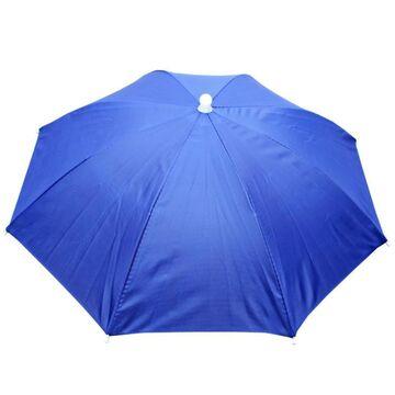 Зонтик шапка, голубой П0538
