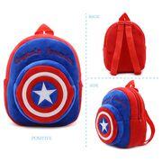 """Детские рюкзаки - Детский рюкзак """"Капитан Америка"""" П0543"""
