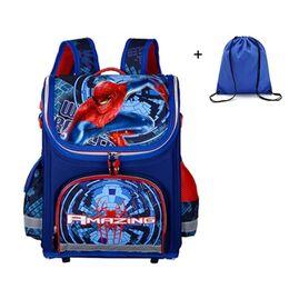 Детский рюкзак Супермен, синий 0550