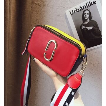 Женская сумка клатч, красная П0556