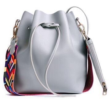Женская сумка DAUNAVIA, серая П0559