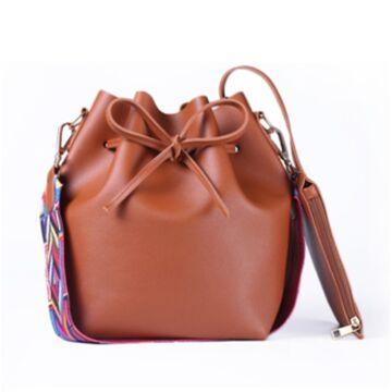 Женская сумка DAUNAVIA, коричневая П0560