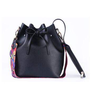 Женская сумка DAUNAVIA, черная П0561