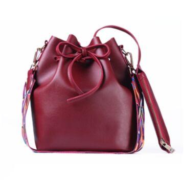 Женская сумка DAUNAVIA, красная П0562