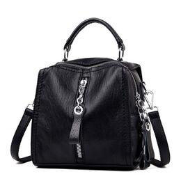 Женская сумка SAITEN, черная 0564
