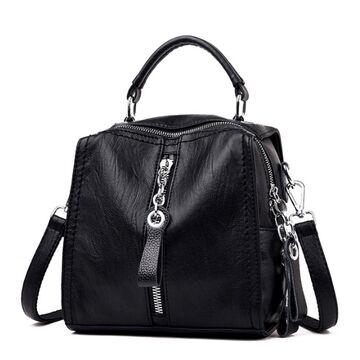 Женская сумка SAITEN, черная П0564