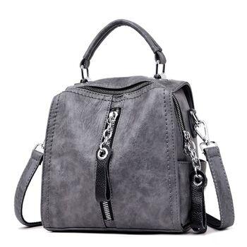 Женская сумка Glorria, серая 0565
