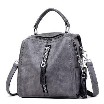 Женская сумка SAITEN, серая П0565