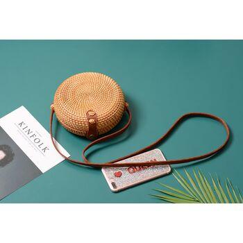 Женская сумка соломенная 0567