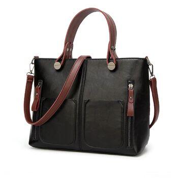 Женская сумка Tinkin, черная 0569