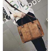 Женские сумки - Женская сумка Tinkin, черная П0569