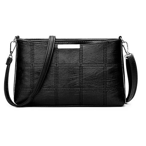 Женские сумки - Женская сумка Cooamy, черная 0573