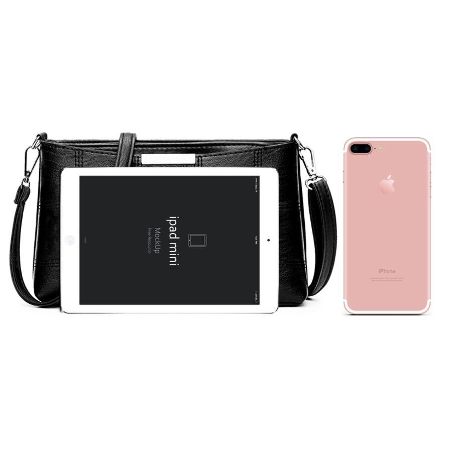 Женские сумки - Женская сумка Cooamy, черная П0573