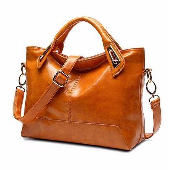 Женская сумка FUNMARDI, коричневая П0576