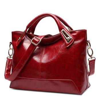 Женская сумка FUNMARDI, красная П0577