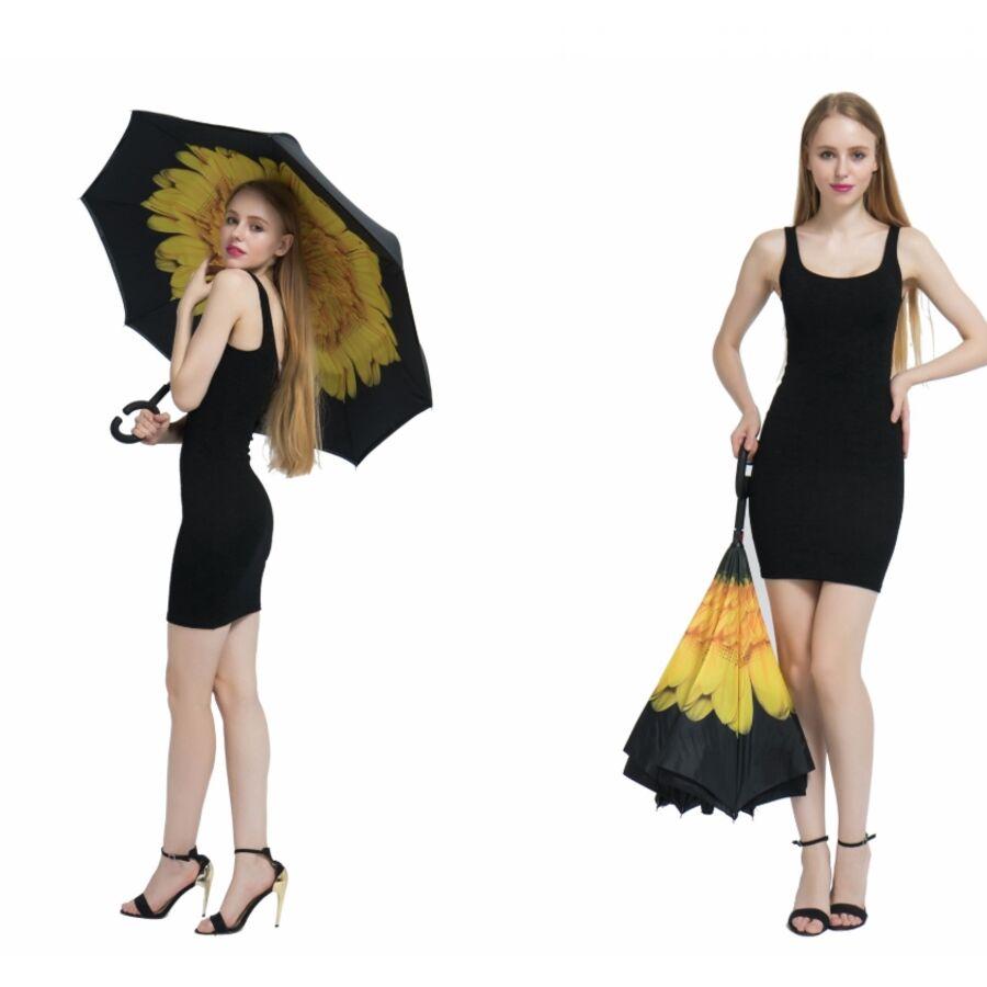 Женские зонты - Зонтик Yesello, желтый П0585