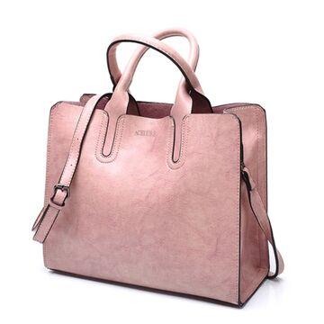 Женская сумка ACELURE, розовая П0592