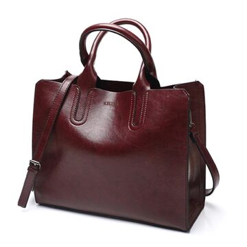 Женская сумка ACELURE, коричневая П0593