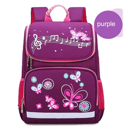 Детские рюкзаки - Детский рюкзак с бабочками П0599
