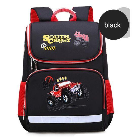 Детские рюкзаки - Детский рюкзак с машинкой П0600
