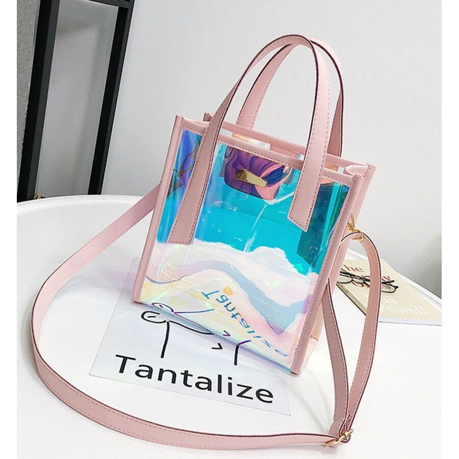 Женские сумки - Женская сумка прозрачная П0604