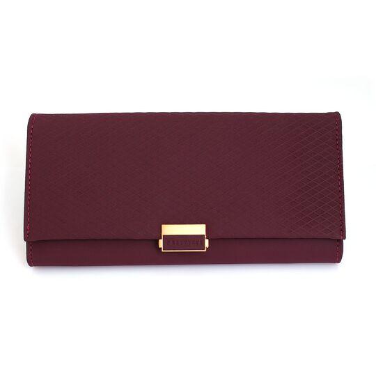 Женские кошельки - Женский кошелек, красный П0606
