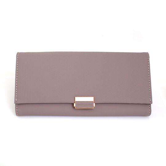 Женские кошельки - Женский кошелек, серый П0607