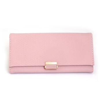 Женский кошелек, розовый П0608