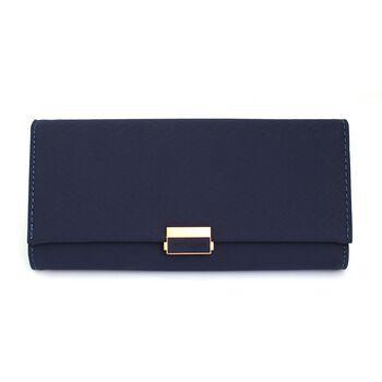 Женский кошелек, синий 0610