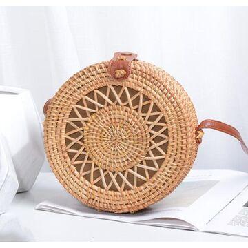 Женская сумка соломенная П0613