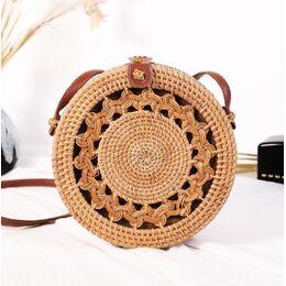 Женская сумка соломенная 0614
