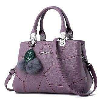 Женская сумка, фиолетовая 0615