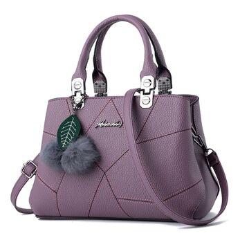 Женская сумка, фиолетовая П0615