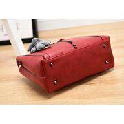 Женские сумки - Женская сумка Saffiano, красная П0618