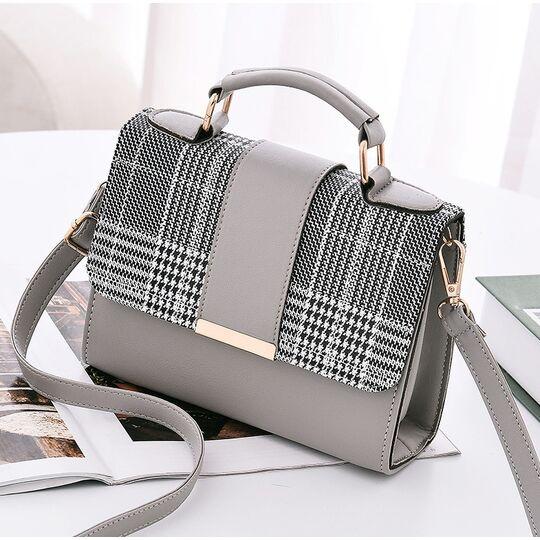 Женские сумки - Женская сумка Yogodlns, серая П0621