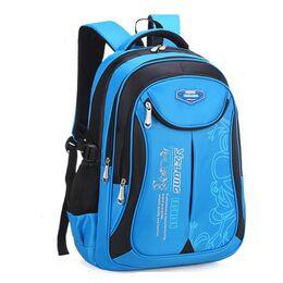 Детский рюкзак, голубой 0624