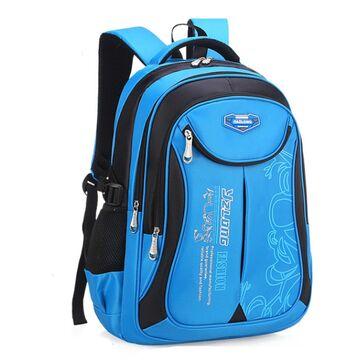 Детский рюкзак, голубой П0624