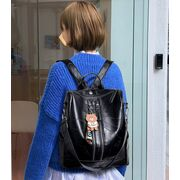 Женский рюкзак SAITEN, черный П0625