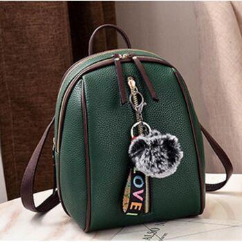 Рюкзак женский, зеленый 0626