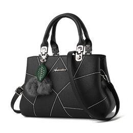 Женская сумка, черная 0628