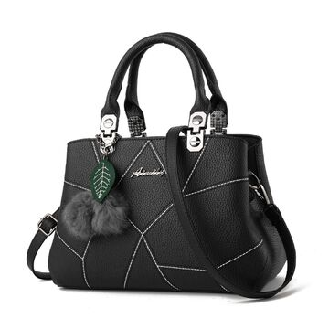 Женская сумка, черная П0628