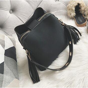 Женская сумка, черная 0632