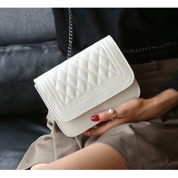 Женская сумка, белая 0638